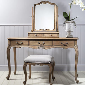 Genevieve Weathered Dressing Table - Dressing Table