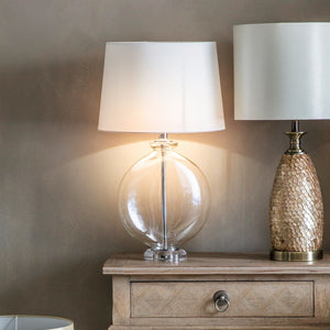Glass Bowl Table Lamp - Table Lamp