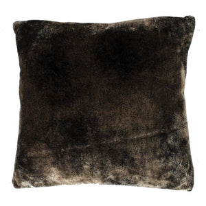 Grizzly Cushion Two Tone Mocha - Cushion