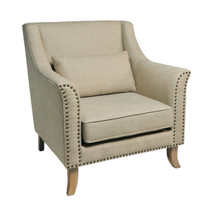 Kensington Cream Armchair - Armchair