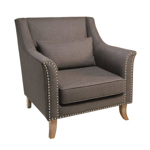 Kensington Grey Armchair - Armchair