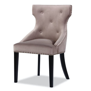 Liang & Eimil Balmoral Mink Velvet Dining Chair - Dining Chairs