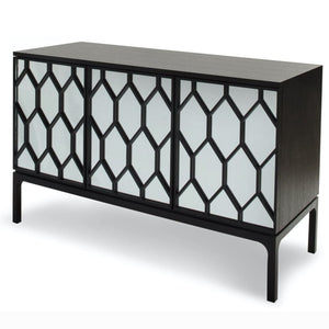 Liang & Eimil Geo Wenge Oak and Mirrored Sideboard - sideboard