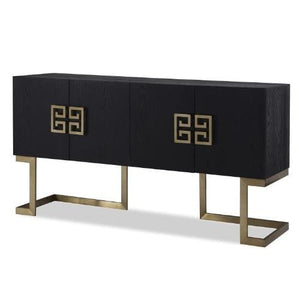 Liang & Eimil Nobbu Black Ash and Brass Sideboard - sideboard