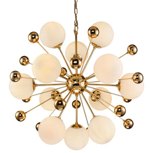 Liang & Eimil Orius Gold and Glass Pendant Light - Pendant Light