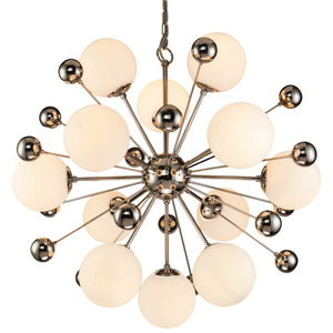 Liang & Eimil Orius Nickel and Glass Pendant Light - Pendant Light