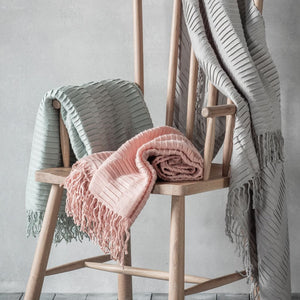 Linear Pleat Throws - Throw