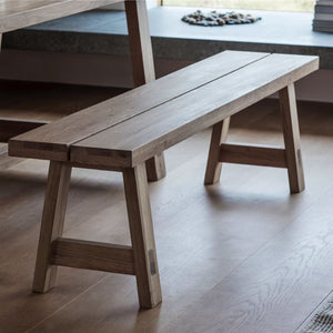 Maidstone Mellow Oak Dining Bench - Dining Bench