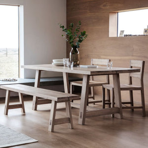 Maidstone Mellow Oak Dining Table - Dining Table