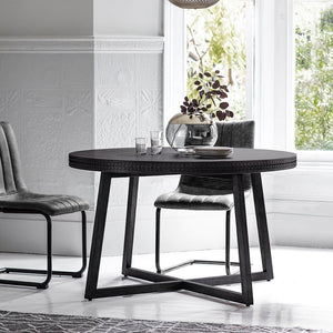 Nobu Boutique Round Dining Table - Dining Table