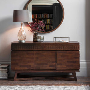 Nobu Retreat Dark Mango Wood Sideboard - sideboard