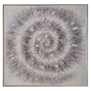 Shea Crystal Spiral Canvas Art - wall art