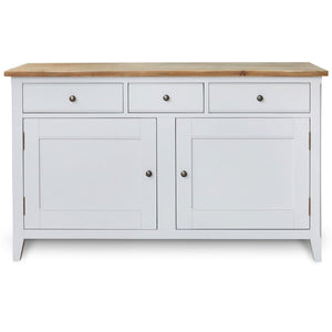 Signature Grey Large Sideboard - sideboard