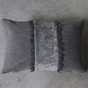 Silver Grey Cushion - Cushion