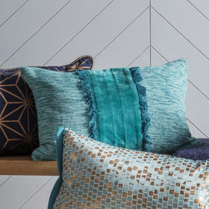 Teal Cushion - Cushion
