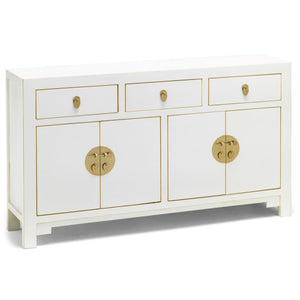 The Nine Schools Qing White Large Sideboard - sideboard