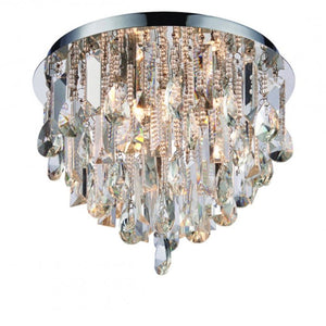 Valentina 3-Light Crystal Ceiling Light - Ceiling Lamp