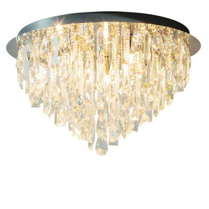 Valentina 5-Light Crystal Ceiling Light - Ceiling Lamp
