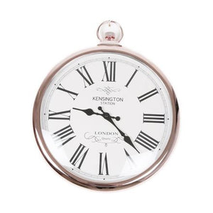 Round Copper Kensington Wall Clock