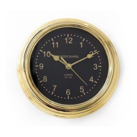 Electroplated Gold Clock