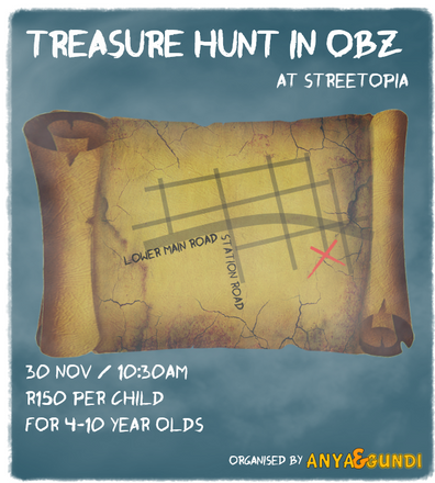 TREASURE HUNT in OBZ, CAPE TOWN