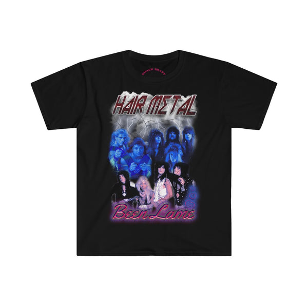 Hair Metal 80s Bootleg Parody Shirt