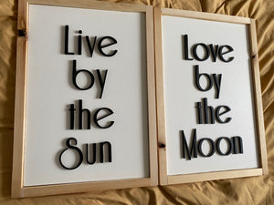 Live by the Sun, Love by the Moon-Set of 2