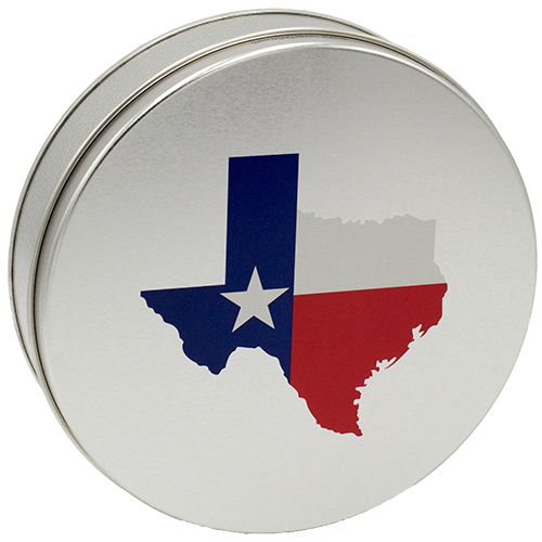 Medium Gift Tins, 7 Patterns Available  - Click on the Texas Tin to see ALL the patterns