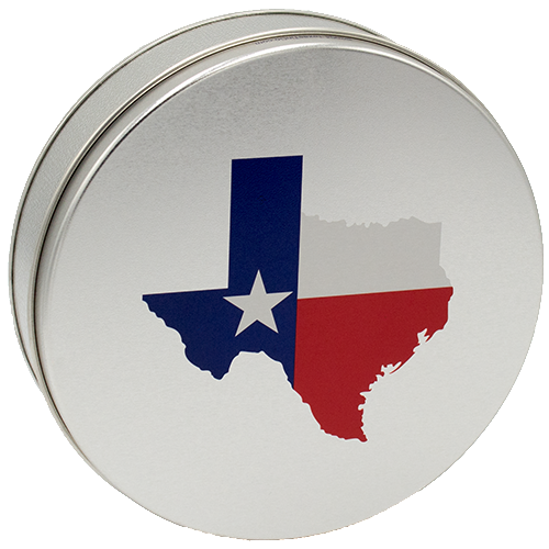 Large Gift Tins, 5 Patterns Available  - Click on the Texas Tin to see ALL the patterns