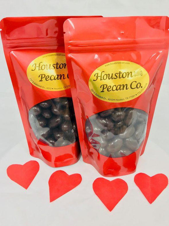 Dark Chocolate Almonds Red Bag