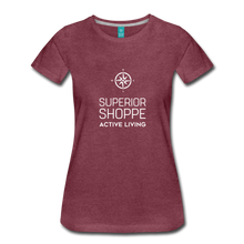 Load image into Gallery viewer, Superior Shoppe Women's Premium T-Shirt - heather burgundy