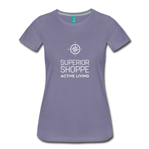 Superior Shoppe Women's Premium T-Shirt - washed violet
