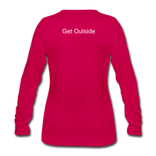 Load image into Gallery viewer, Superior Shoppe Women's Premium Long Sleeve T-Shirt - dark pink