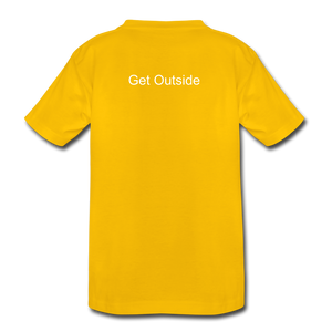 Superior Shoppe Kids' Premium T-Shirt - sun yellow