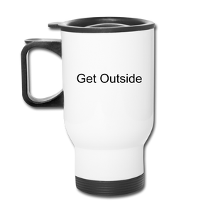 Superior Shoppe Travel Mug - white