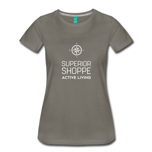 Superior Shoppe Women's Premium T-Shirt - asphalt
