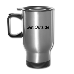Superior Shoppe Travel Mug - silver