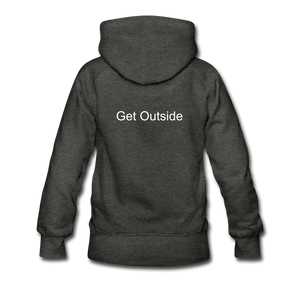 Superior Shoppe Women's Premium Hoodie - charcoal gray