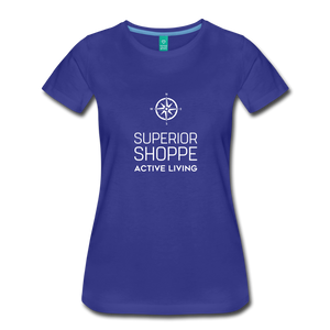 Superior Shoppe Women's Premium T-Shirt - royal blue