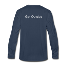Load image into Gallery viewer, Superior Shoppe Men's Premium Long Sleeve T-Shirt - navy