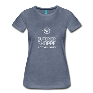 Superior Shoppe Women's Premium T-Shirt - heather blue