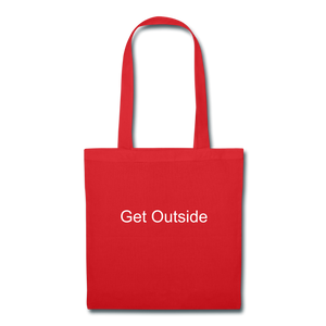 Superior Shoppe Tote Bag - red