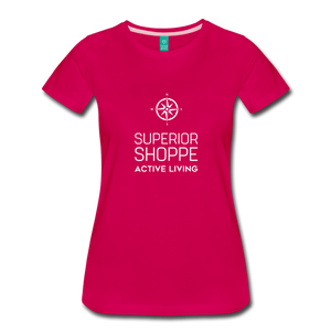 Superior Shoppe Women's Premium T-Shirt - dark pink