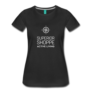 Superior Shoppe Women's Premium T-Shirt - black