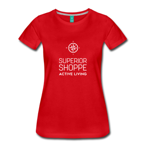 Superior Shoppe Women's Premium T-Shirt - red