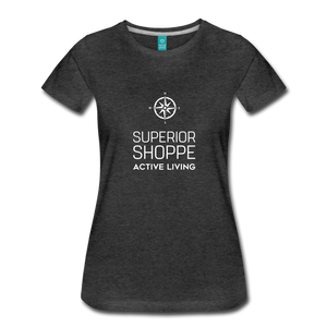 Superior Shoppe Women's Premium T-Shirt - charcoal gray