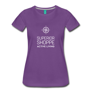 Superior Shoppe Women's Premium T-Shirt - purple