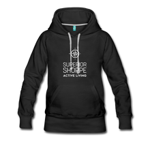 Load image into Gallery viewer, Women's Premium Hoodie - black