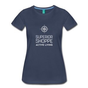 Superior Shoppe Women's Premium T-Shirt - navy