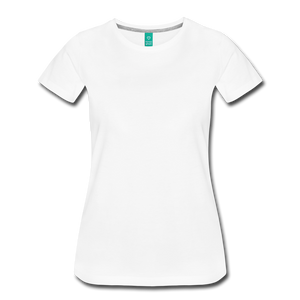 Superior Shoppe Women's Premium T-Shirt - white